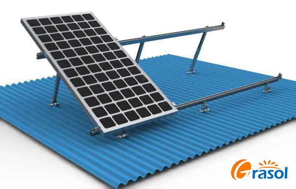 Grace solar roof mounting system
