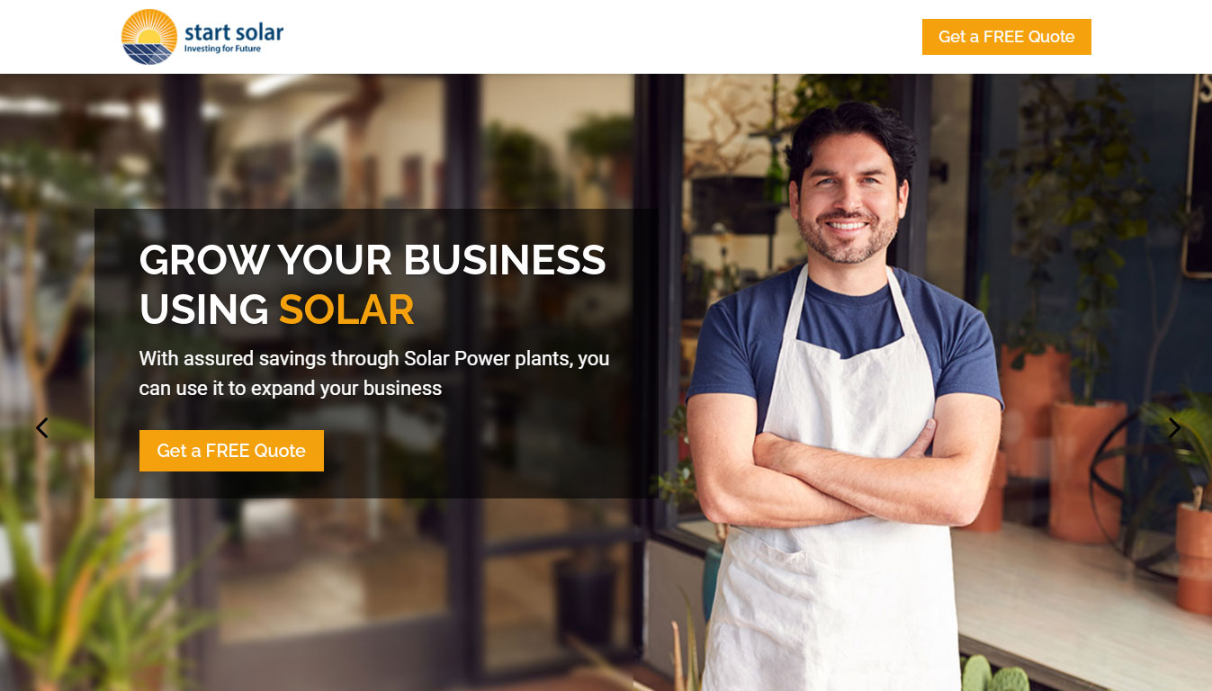 Grow your business using Solar