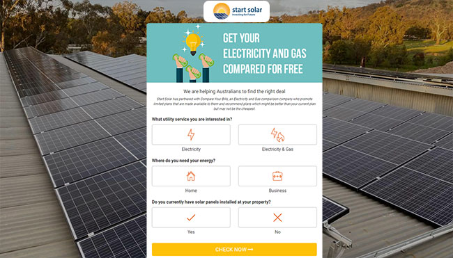 Compare Electricity and Gas Bill