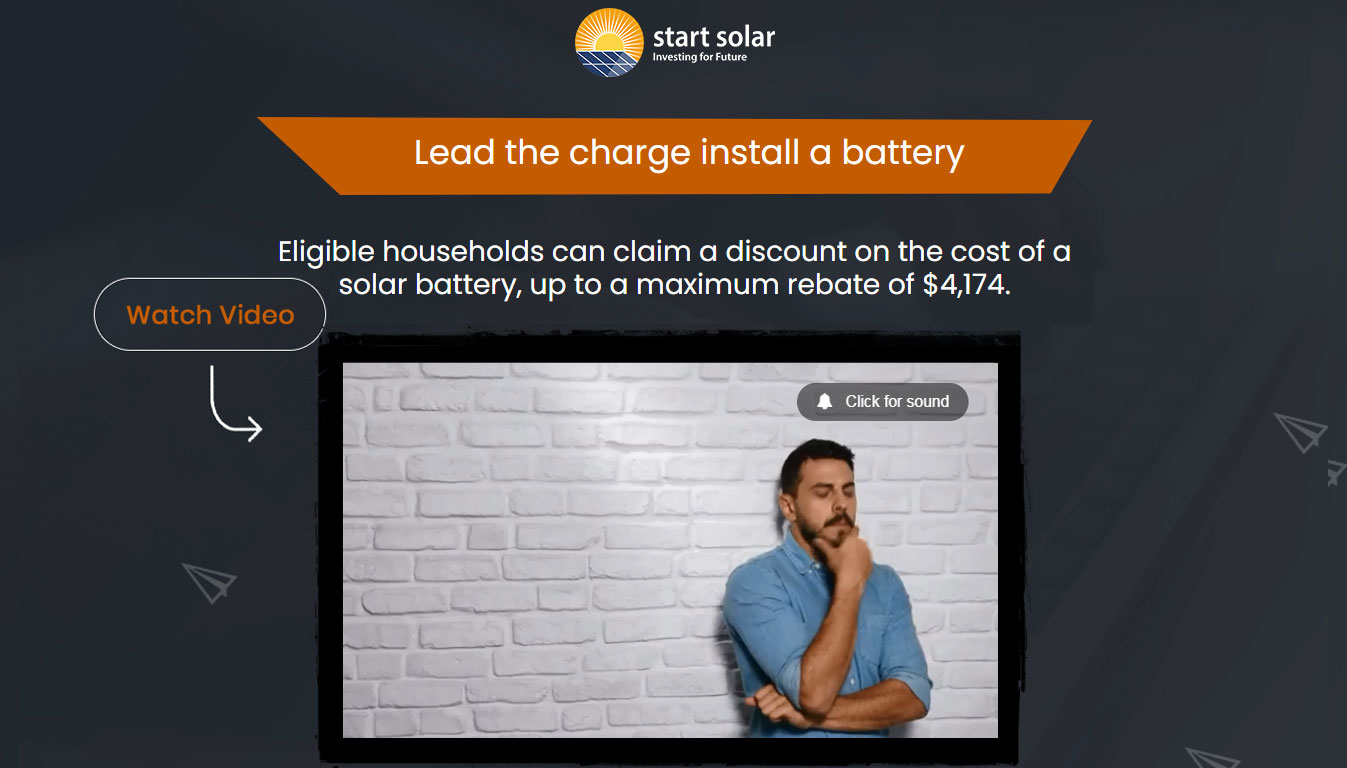 Lead the charge install a battery